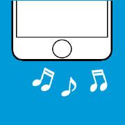 ラウンドスピーカー交換(iPhone)